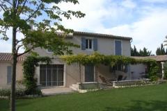 Maison neuve - Saint Rémy de Provence 2002