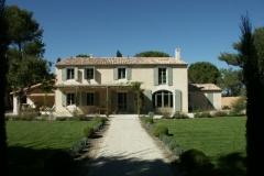 Maison neuve - Saint Rémy de Provence 2004